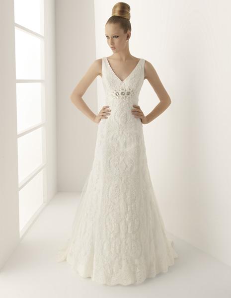 innovias | vestido de novia moscu de innovias venta outlet escote pico