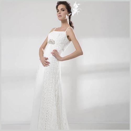 innovias | vestido de novia 4696 de innovias en crochet | innovias
