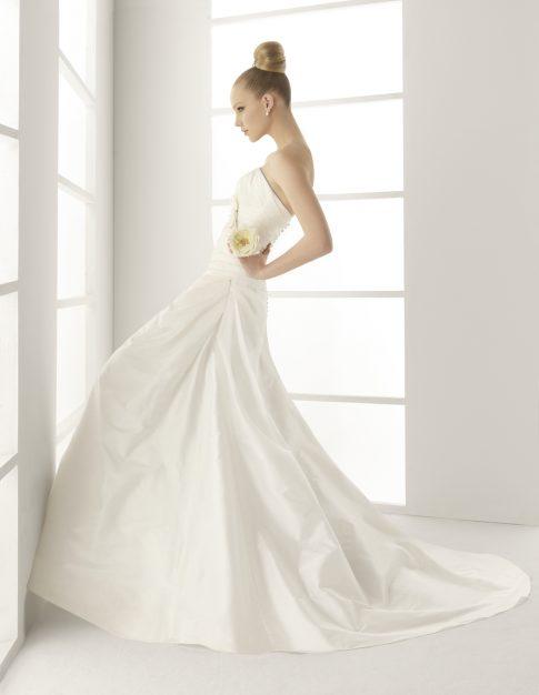 innovias | vestido de novia muselina de innovias de venta outlet
