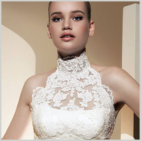 Bolero para vestido novia