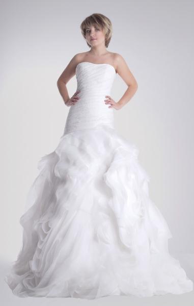 Vestidos de novia con ondas