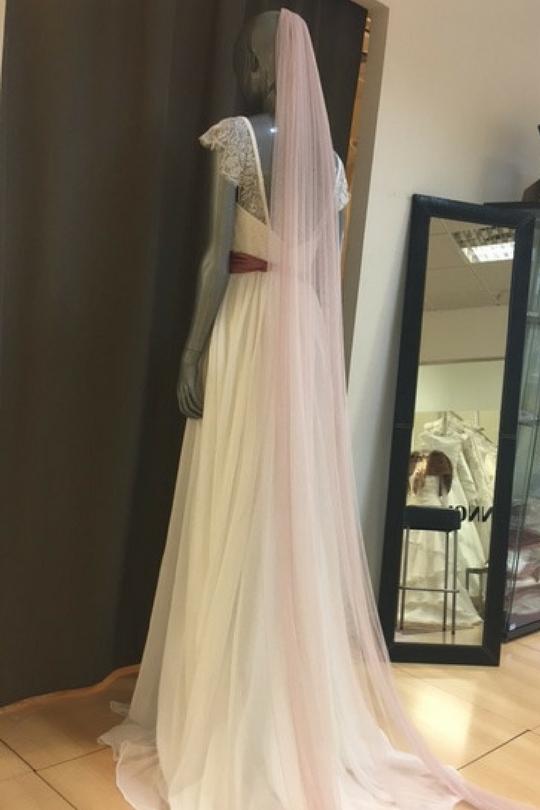 5832f656e Velo de novia rosa