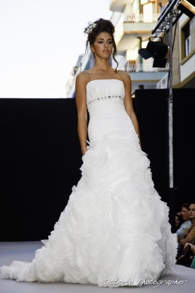 innovias | vestido de novia albero de innovias falda de flores