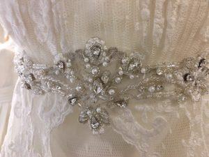 Cinturilla joya de novia Vanina