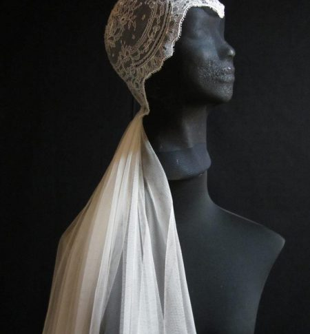 casquete de novia vintage innovias