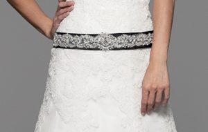 Cinturilla de novia Amira