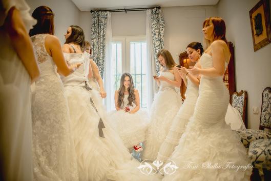 desfile3 Elección del vestido de novia
