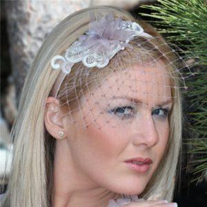 Diadema de novia vintage