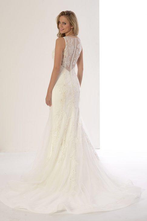 Vestidos de novia linea recta