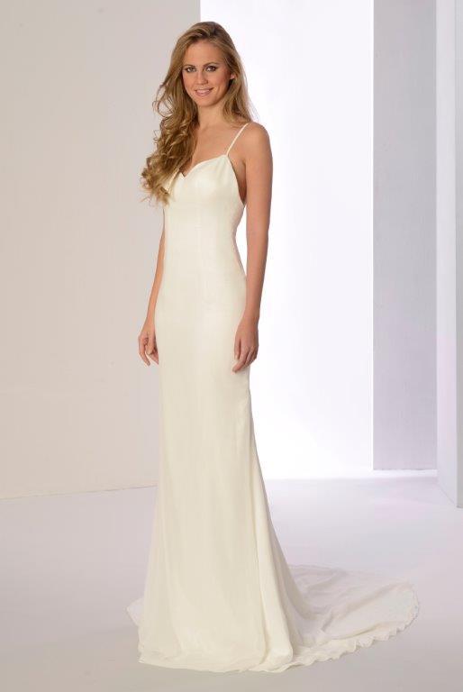 innovias   vestido de novia plumilla de innovias de corte recto
