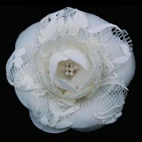flor de novia camelia y encaje Innovias