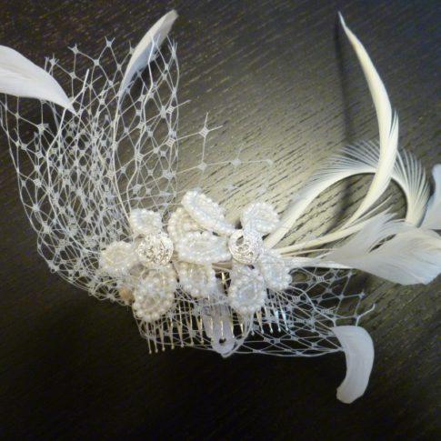 tocado de novia rejilla innovias