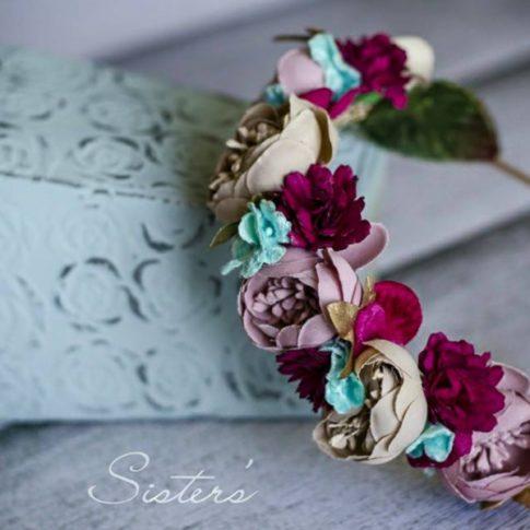 tiara de flores innovias