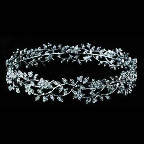 tiara de novia para recogido innovias