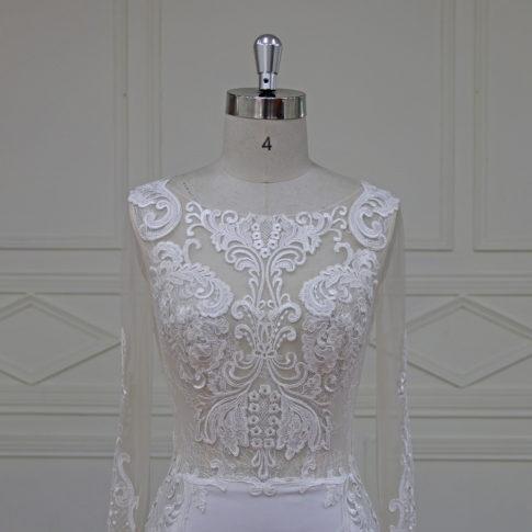 detalle-cuerpo-vestido-nude-novia-aster-485x485 Espaldas Protagonistas - Linea Oro