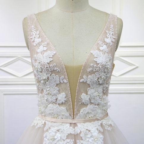 escote-vestido-novia-amina-innovias-485x485 Estilo Princesa - Linea Oro