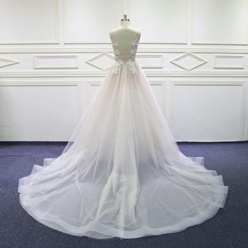 espalda-vestido-novia-amina-innovias-485x485 Estilo Princesa - Linea Oro